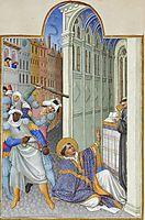 The Martyrdom of Saint Mark, limbourg