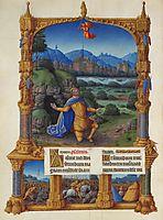 The Penance of David, limbourg