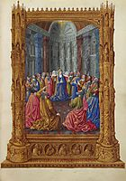 Pentecost, limbourg