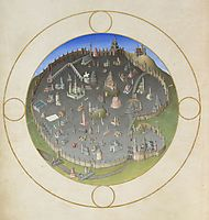 A Plan of Rome, limbourg