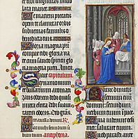 The Presentation in the Temple, limbourg