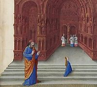 The Presentation of the Virgin, limbourg