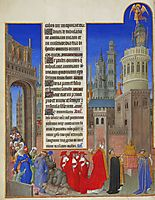 The Procession of Saint Gregory, limbourg