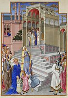 The Purification of the Virgin, limbourg