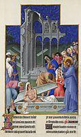 The Raising of Lazarus, limbourg
