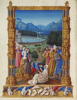 The Revealing of the True Cross, limbourg