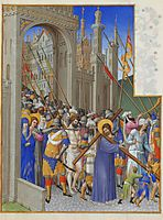 The Road to Calvary, limbourg