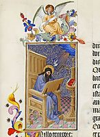 Saint Matthew, limbourg