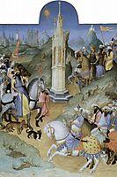 Scene of Meeting the Magi, limbourg