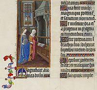 The Visitation, limbourg