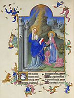 The Visitation, limbourg
