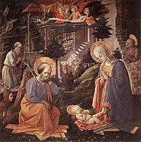 Adoration Of The Child With Saints, lippi