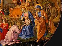 Adoration of the Magi (detail), lippi