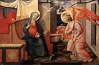 Annunciation, 1450, lippi
