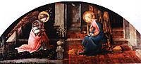 The Annunciation, 1450, lippi