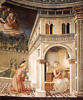 Annunciation, 1469, lippi