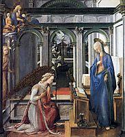 Annunciation, c.1443, lippi