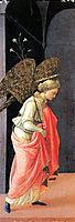Annunciation, left wing, 1430, lippi