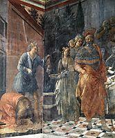 The Beheading of John the Baptis, 1465, lippi