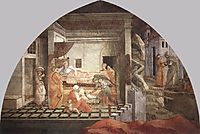 The Birth and Infancy of St. Stephen, lippi