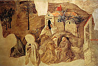 Confirmation of the Carmelite Rule, c.1432, lippi