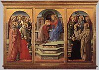 Coronation of the Virgin, 1445, lippi