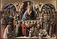 Coronation of the Virgin, 1447, lippi