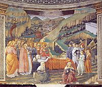 Death of the Virgin, 1469, lippi