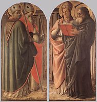 The Doctors of the Church, 1437, lippi