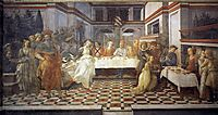The Feast of Herod: Salome-s Dance , 1464, lippi