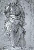 Figure study, 1465, lippi