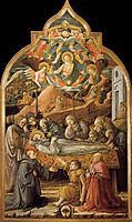 Funeral of St. Jerome, 1465, lippi