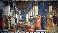 The Funeral of St. Stephen , c.1460, lippi