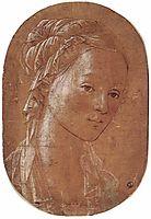 Head of a Woman, 1452, lippi