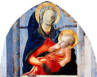 Madonna and Child, 1430, lippi