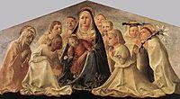 Madonna of Humility, 1430, lippi