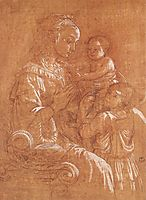 Madonna with the Child and two Angels, 1465, lippi