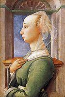 Portrait of a Woman, 1440, lippi