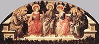 Seven Saints, 1450, lippi