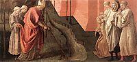 St. Fredianus Diverts the River Serchio, lippi