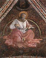 St. John the Evangelist, 1454, lippi