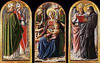 Triptych, c.1437, lippi