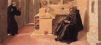 Vision of St. Augustine, lippi