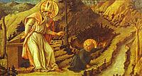 The Vision of St. Augustine, 1465, lippi