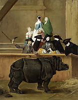 Clara the Rhinoceros, 1751, longhi
