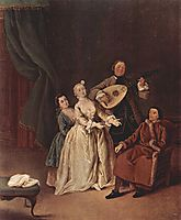 The Family Concert, 1760, longhi