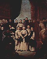 Friars in Venice, longhi