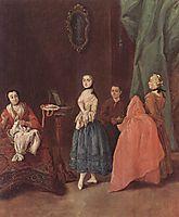 Lady at the Dressmaker, longhi