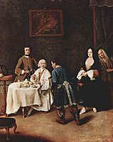 A Visit to a Lord, longhi