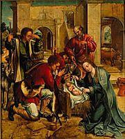 Adoração dos Pastores, 1539, lopes